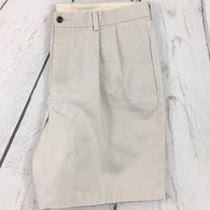 Brooks Brothers 346 Advantage Khaki Tan Shorts 36W